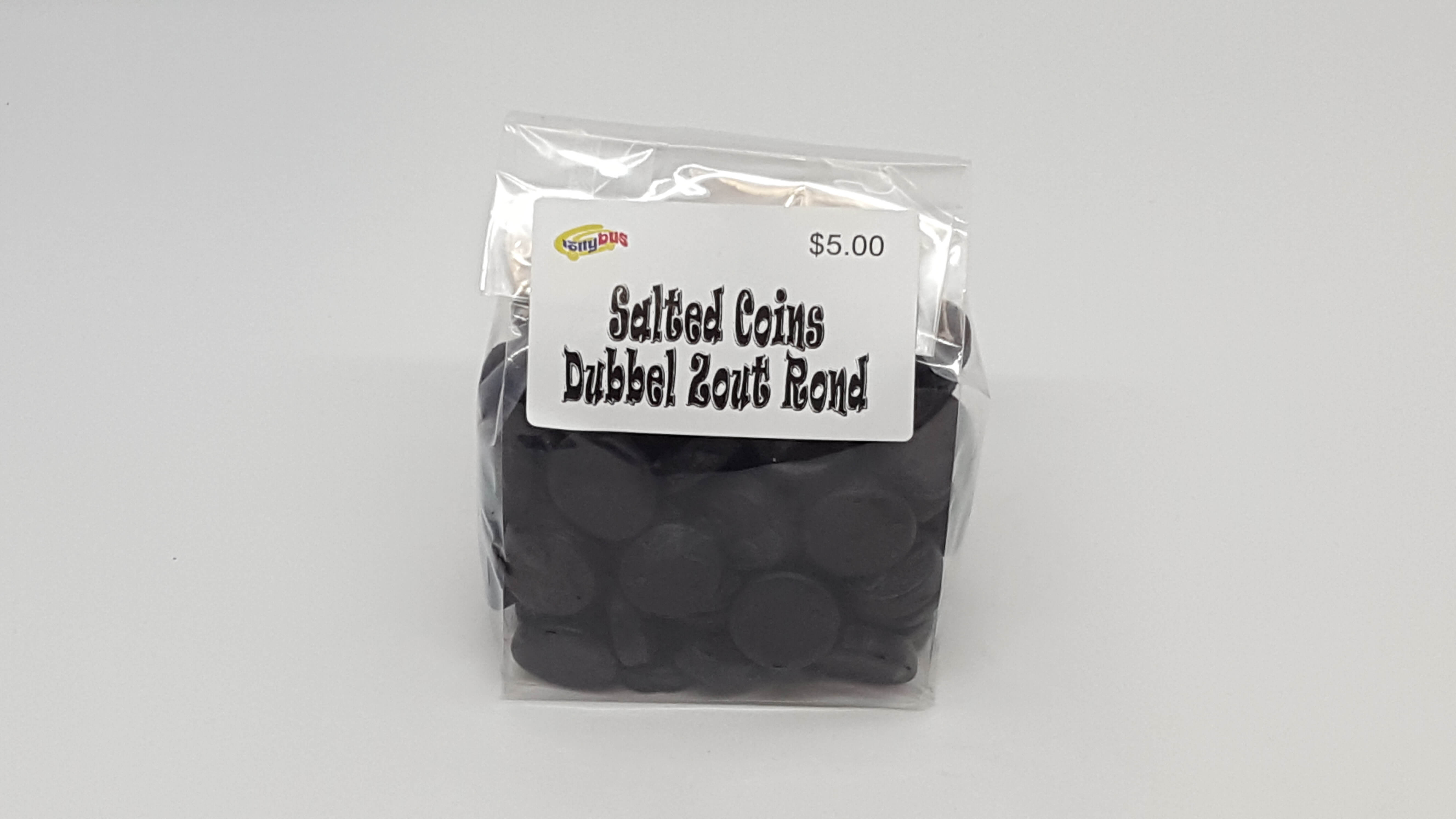 Double Salted Licorice Coins