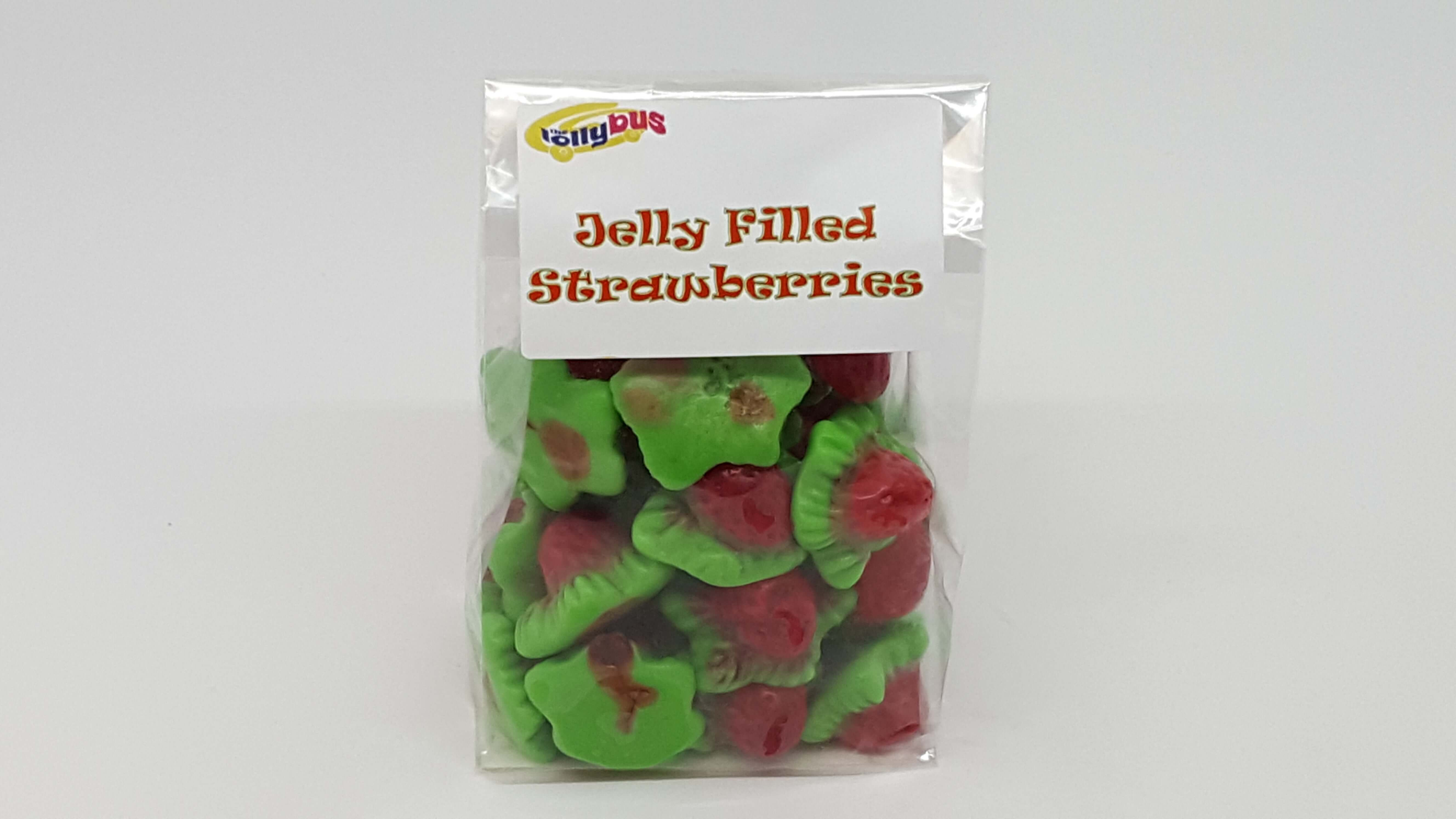 Jelly Filled Strawberries